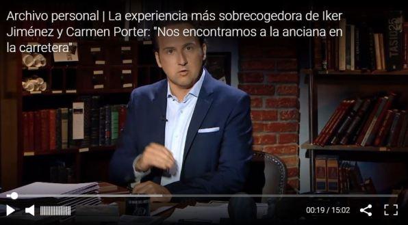 Iker Jiménez cuenta que vivió su experiencia más sobrecogedora en ...