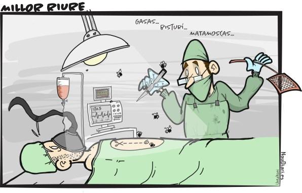 La viñeta de Untaltoni: Matamoscas para los cirujanos
