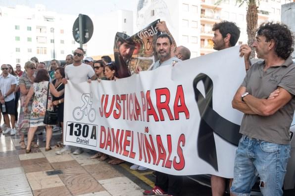 Juicio por al muerte del ciclista Dani Viñals. Foto V. Torres