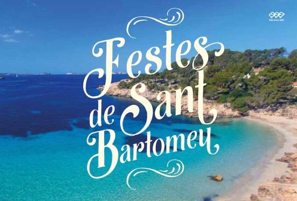 Programa de fiestas de Sant Bartomeu.