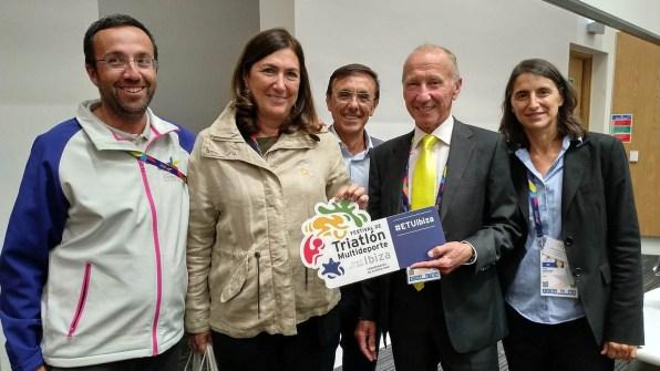 Marisol Casado y Renato Bertrandi con el Europeo de triatlón de Eivissa.