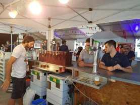 Inauguración de la Feria de la Cerveza 2018. Foto V. Ribas