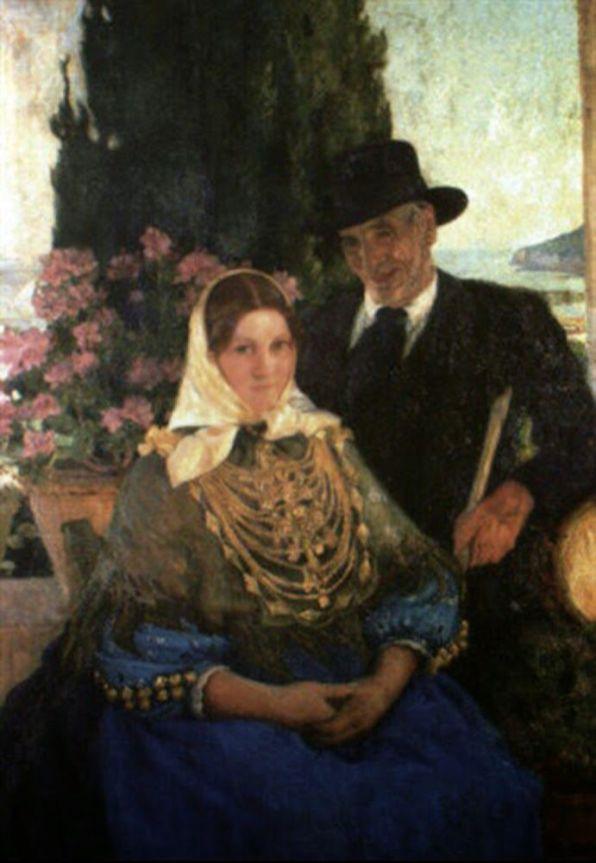 Pintura de Rigoberto Soler. Década de 1920.