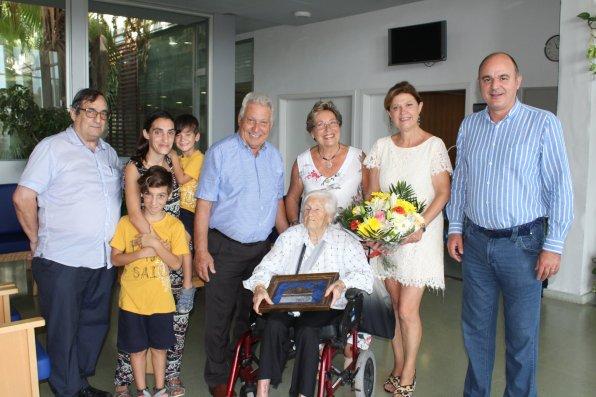 Homenatge a Antònia Guasch Planell