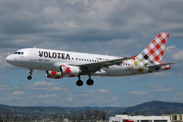 Un avión de Volotea. Wikimedia Commons