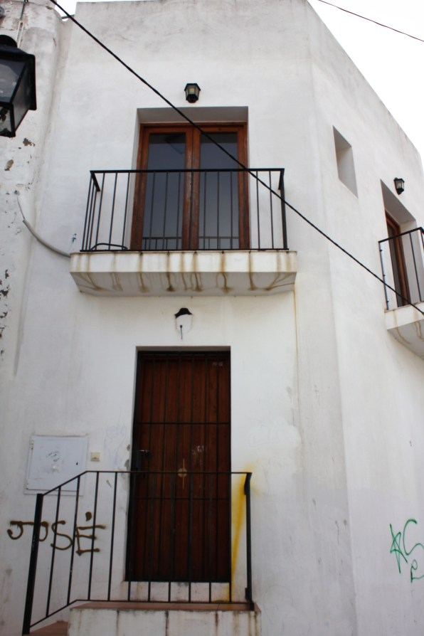 Viviendas municipales en sa Penya. Foto EPIC