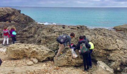 Limpieza playas CEIP La Mola Formentera