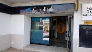 Oficina de La Caixa en Sant Ferran.