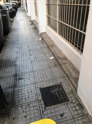 Suciedad en el barrio de sa Capelleta de Ibiza.
