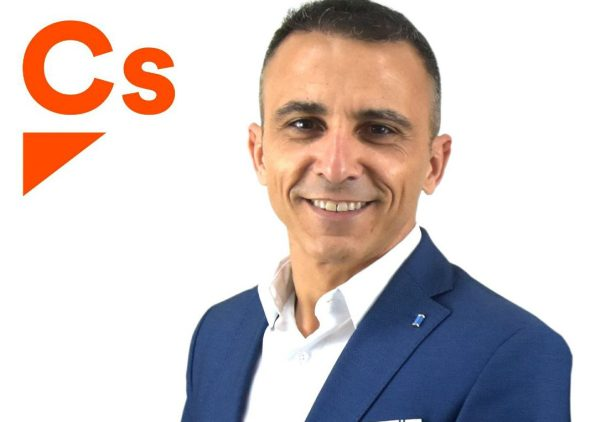 Dani Becerra, candidato a la alcaldía de Sant Josep por Ciudadanos.