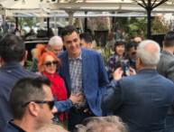 El presidente del Consell de Eivissa, fotógrafo para la ocasión. Foto V. Torres