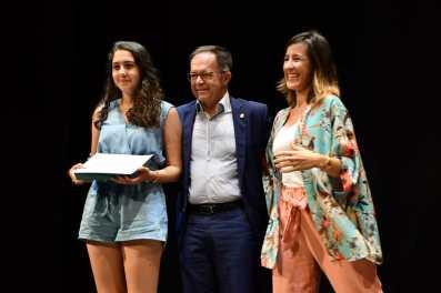 Maya Guerau, mejor expediente de Bachillerato de Sant Josep