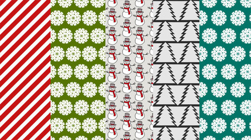 Christmas-3-christmas in The Ultimate Christmas Round-Up: Patterns, Brushes, Vectors and Fonts
