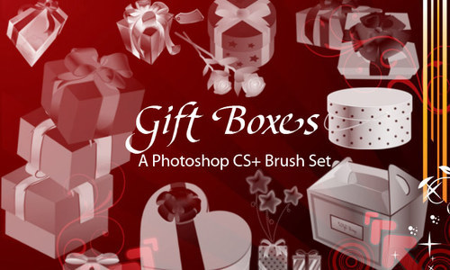 Gift-boxes-1-christmas in The Ultimate Christmas Round-Up: Patterns, Brushes, Vectors and Fonts
