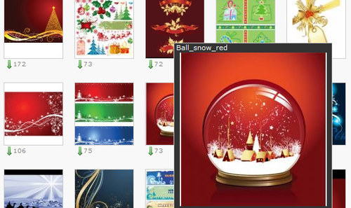 Vector-stock-christmas in The Ultimate Christmas Round-Up: Patterns, Brushes, Vectors and Fonts