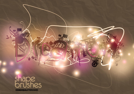 Abstractbrushes35 in 100+ Free High Resolution Photoshop Brush Sets
