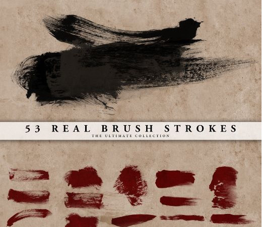 Drawingsbrushes73 in 100+ Free High Resolution Photoshop Brush Sets