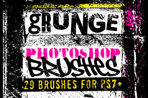Grungebrushes49 in 100+ Free High Resolution Photoshop Brush Sets