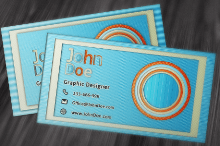 50 Free Photoshop Business Card Templates   The JotForm Blog Free Business Card PSD v1
