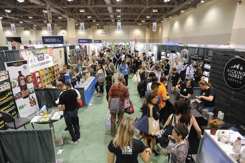 Canadian Health Food Association east show floor