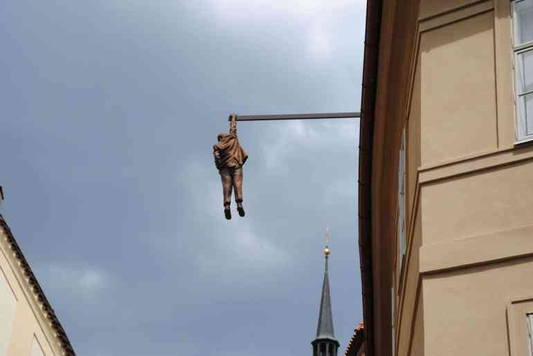 Hanging Man in Prague-1