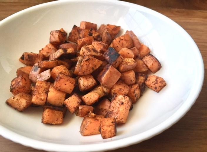 Skillet Breakfast Sweet Potatoes