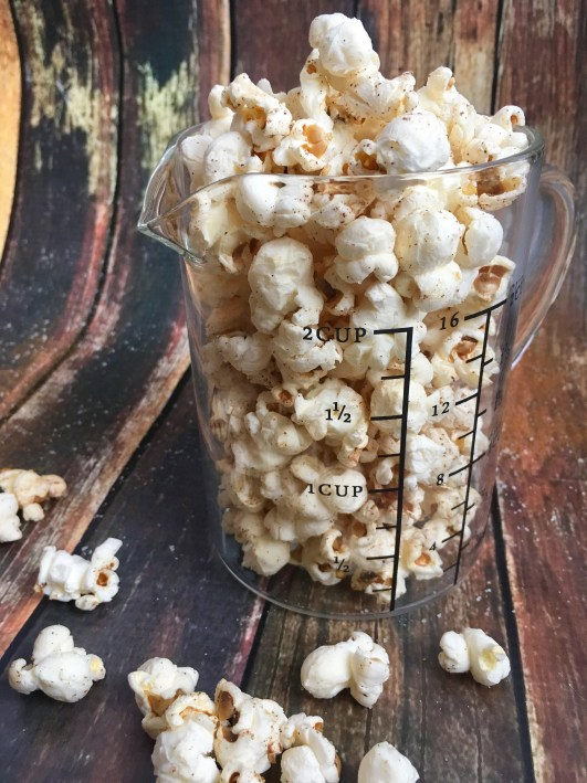 Skinny Sweet and Salty Popcorn