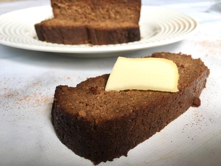 Lightened-Up Gingerbread Loaf