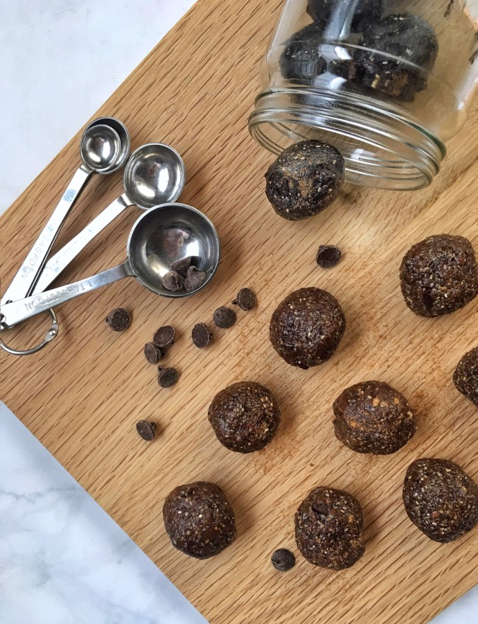 Cocoa Collagen Energy Bites {Gluten-Free, Paleo, Dairy-Free}