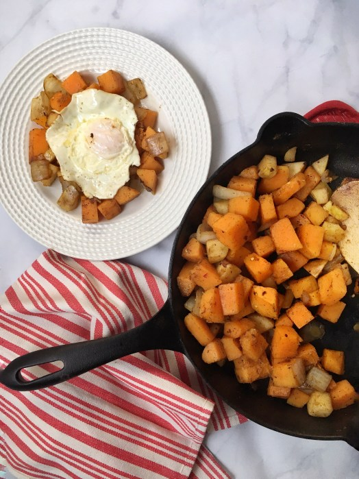 Paleo Butternut & Pear Breakfast Hash (1)