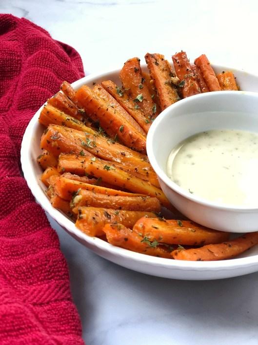 Parsley & Garlic Carrot Fries