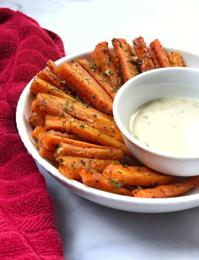 Parsley & Garlic Carrot Fries