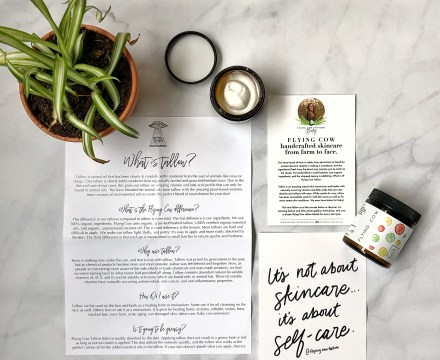 Flying Cow Tallow Skincare: Review & GIVEAWAY