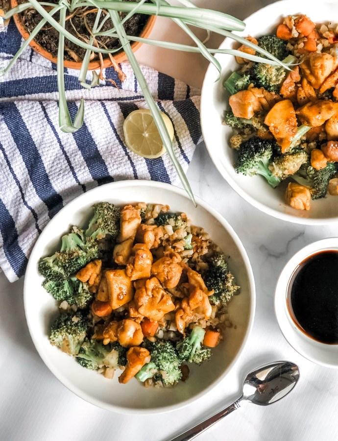 30-Minute Paleo Teriyaki Chicken Stir-Fry