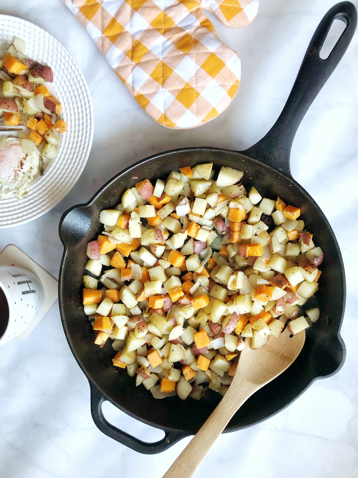Breakfast Medley Potato Skillet