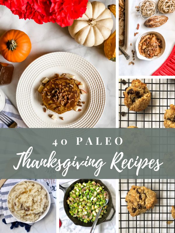 40 Paleo Thanksgiving Recipes