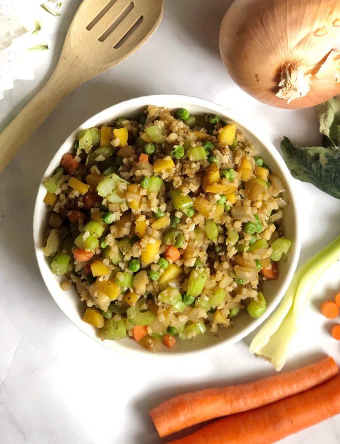 Cauliflower Fried Rice Bowl