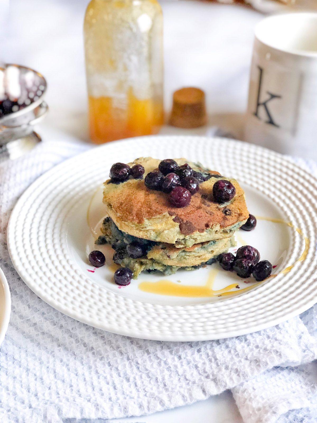 Blueberry Cassava Pancakes 3