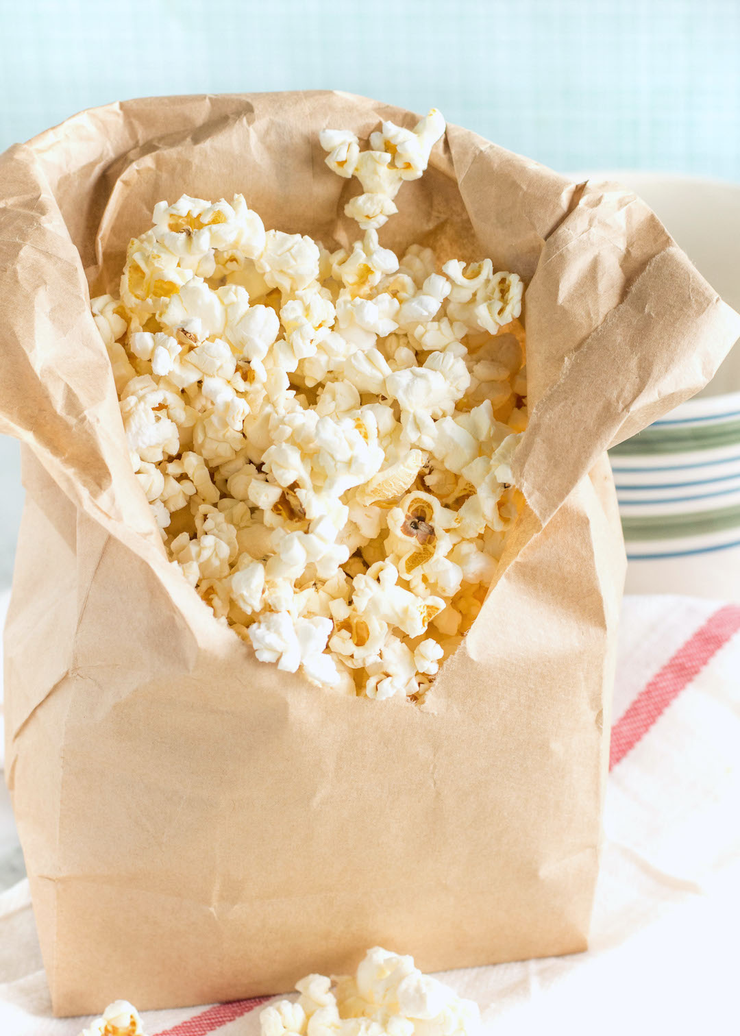Homemade Sweet and Salty Popcorn