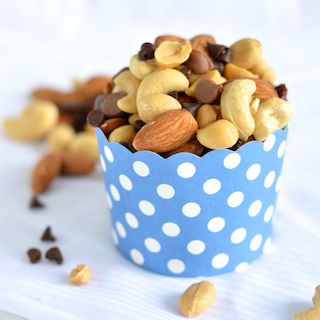Nutty Chocolate Cherry Trail Mix