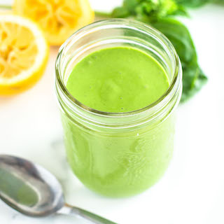Healthy Green Goddess Dressing