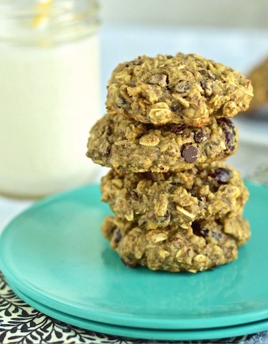12 Awesome Post-Workout Snacks | Gluten Free Breakfast Cookie | A post-workout snack idea recipe round up featuring easy to make and gluten free snacks packed with protein from nourishedtheblog.com.