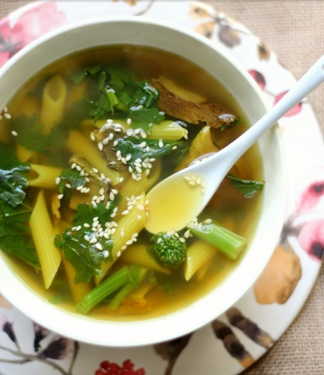 Tummy Healing Soup for One | 16 Awesome Soup Recipe Ideas | The BEST soups, stews and chilis from around the internet!