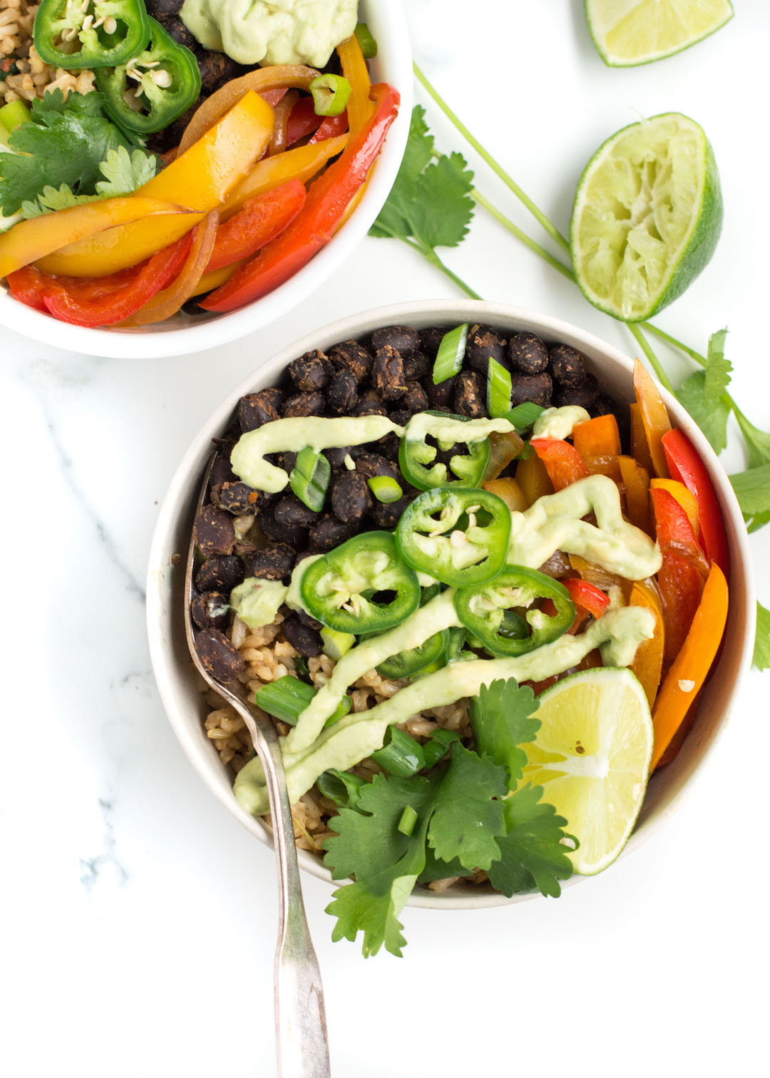 Veggie Burrito Bowl with Black Beans | healthy dinner recipe | vegan-possible, gluten free, vegetarian, easy to make |