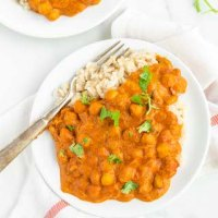Healthy Butter Chickpeas