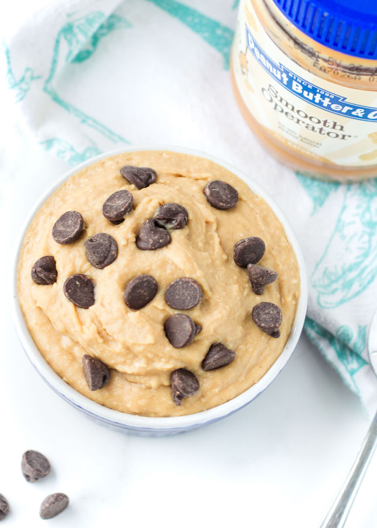 Peanut Butter Cookie Dough Dip #ad #sponsored #tasteamazing