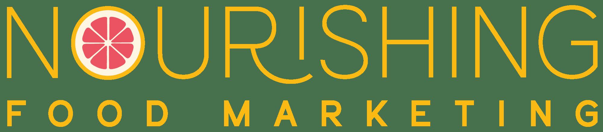 nourishing food marketing logo
