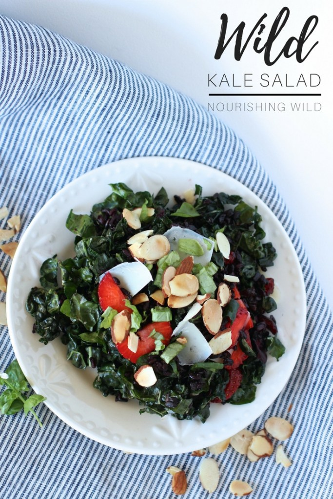 Wild Kale Salad Recipe - The best kale salad you'll ever have | Nourishing Wild