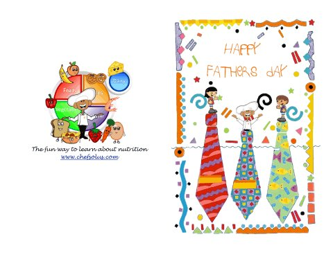 Holiday 8 Colorful Tie Fun Fathers Day Card