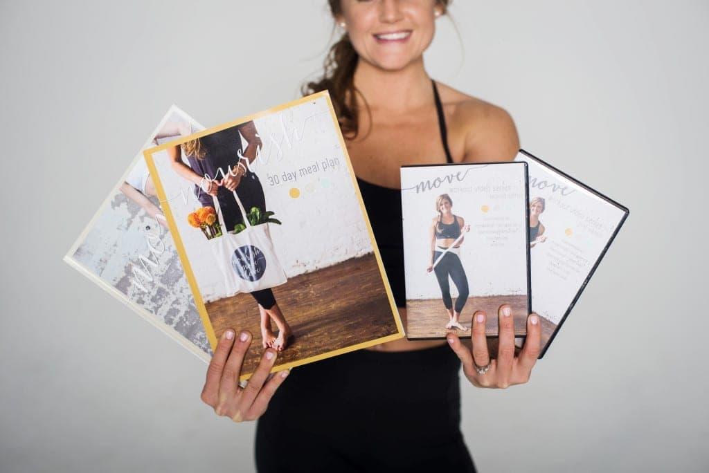 nourish + move 4 week challenge -- www.nourishmovelove.com